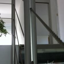 cable inox traversant