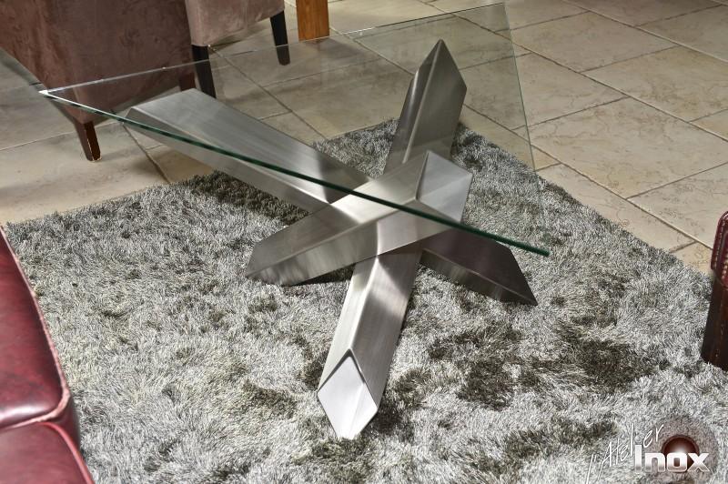 table inox design triangle