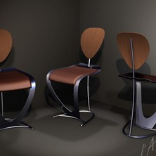 projet chaise inox