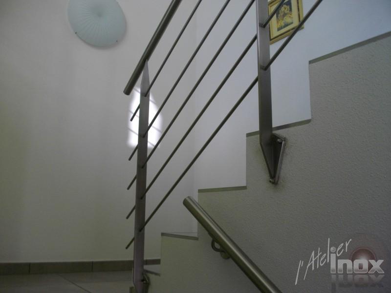 rampe inox platines triangle