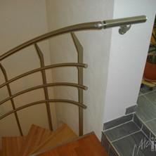 rampe inox escalier colimasson